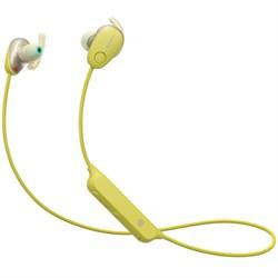 WI-SP600N Wireless In-Ear Sport Headphones w/ Bluetooth - Yellow (WISP600N/Y)