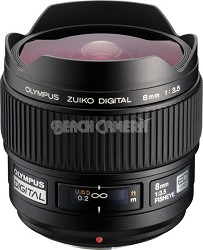 8mm f3.5 Zuiko Digital Fisheye Lens  USA WARRANTY