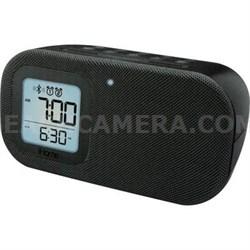 Bluetooth Dual Alarm Clock Blk