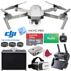 Mavic Pro Platinum Quadcopter Drone +  64GB MicroSD and 3 Free Months Netflix