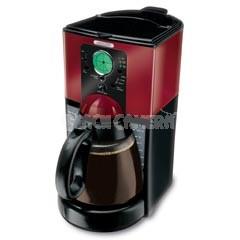 12-Cup, Red Metallic, Programmable Coffeemaker