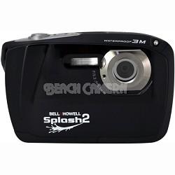 "Splash II 16MP Waterproof Digital Camera 2.5"" LCD HD Video (Black)(WP16-BK)"