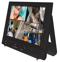 NO-8LCD 8 inch LCD Security Monitor - 800 x 600 w 2 Channel Inputs