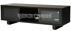 """JFV60E - Dual Purpose Wide 3 Shelf A/V Cabinet, TVs up to 63"""" (Espresso Finish)"""