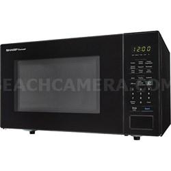 1.4 Cu.Ft. 1000W Carousel Countertop Microwave Oven in Black -SMC1441CB