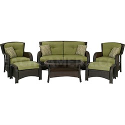 Strathmere 6-Piece Patio Seating Set - STRATHMERE6PC