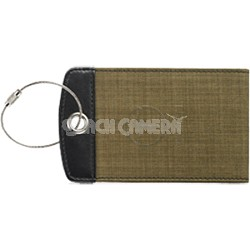 T-Tech Bifold Luggage Tag, Rust