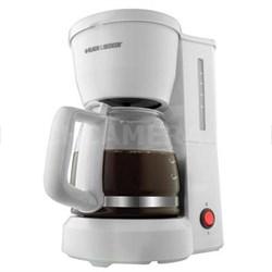 BD 5c Coffee Maker GlsCrf Wht