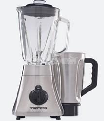 50-oz. Silhouette Blender with Bonus Stainless Steel Jar, Brushed Stainless