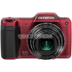 STYLUS SZ-15 16MP 24x SR Zoom 3-inch Hi-Res LCD - Red  - OPEN BOX