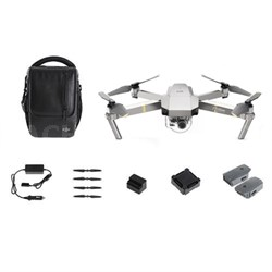 Mavic Pro Platinum Quadcopter Drone with 4K Camera + Wi-Fi Fly More Combo