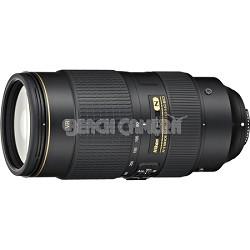 AF-S NIKKOR 80-400mm f.4.5-5.6G ED VR Lens