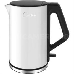 CoolTouch Electric Kettle in White - MEK17DW-W