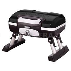 CGG-180TB Gourmet Portable Gas Grill, Petit, Black - OPEN BOX