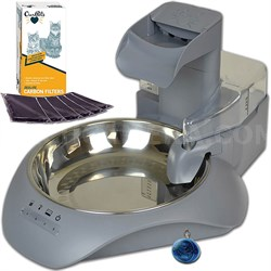 SmartLink Waterer Intelligent Automatic Water Fountain w/ Brush + Filter