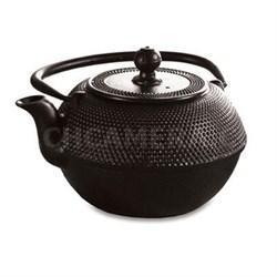 Primula Cast Iron Teapot Black