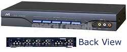 JX-S111 A/V Source Selector w/ Component Video Switching (Black)