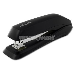 Swingline Standard Strip Eco 545 Desk Stapler,15 Sheet Capacity, Black S7054501E