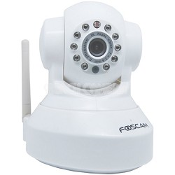 FI8918W Wireless/Wired Pan & Tilt IP/Network Camera with 8 Meter Night  OPEN BOX