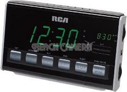 RC10 AM/FM Alarm Clock Radio (Black)