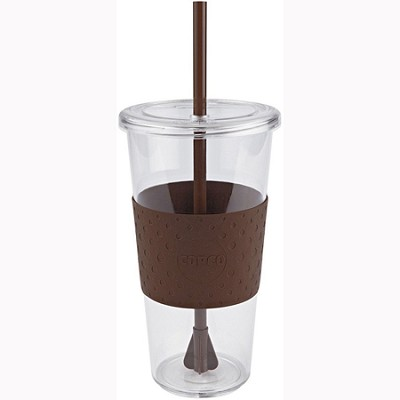 Eco First Tumbler 24 Ounce Togo Cup Mug - Brown (2510-9970)