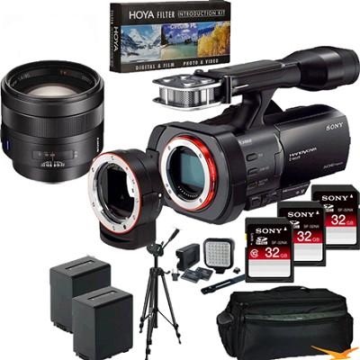 NEX-VG900 Full-Frame Full Frame HD Camcorder + SAL 85MM f/1.4 Full Frame Lens