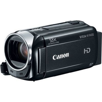 VIXIA HF R400 HD 53x Image Stabilized Optical Zoom Camcorder  3` LCD Refurbished