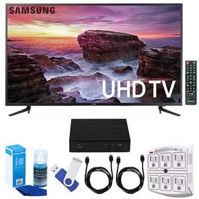 58` Smart LED 4K UHD TV w/ Wi-Fi + Terk HD TV Tuner 16GB Hook-Up Bundle