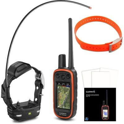 Alpha 100/TT 15 mini Track and Train Dog Device - Dog Collar Orange Bundle