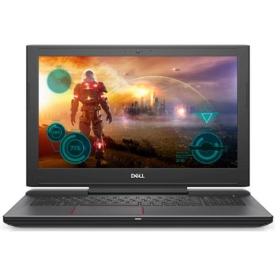 I7577-5265BLK Inspiron 15.6` i5-7300HQ 8GB RAM, 256GB Gaming Notebook Laptop