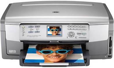 Photosmart 3210 All-in-One Photo Inkjet Printer - Copier - Scanner