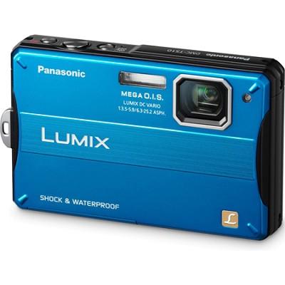 Lumix DMC-TS10A 14.1 MP Digital Camera (Blue) - OPEN BOX