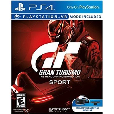 Gran Turismo Sport Video Game for PlayStation 4 - 3001105