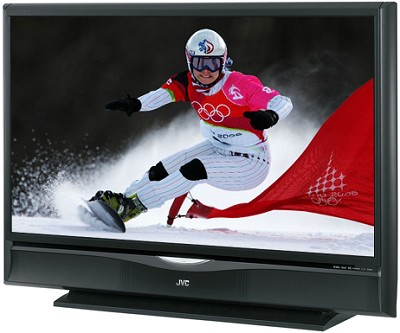 HD-61G787 HD-ILA 61` High-definition LCoS Rear Projection TV (Black)