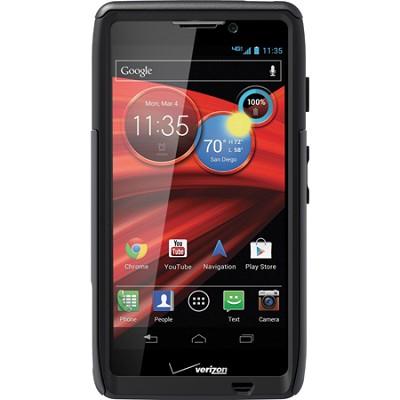 Commuter Series Case for Motorola RAZR MAXX HD - Retail Packaging - Black