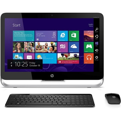 Pavilion 23` 23-P114 AMD A8-6410 TouchScreen All In One PC - Refurbished