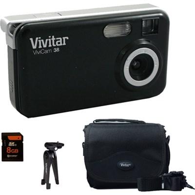 Polaroid 16MP Digital Camera IS624 - Black - Accessory Kit