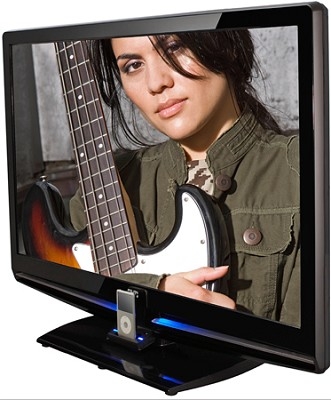 LT-42P300 42` High Definition 1080p LCD TV w/ iPod Dock