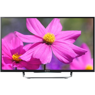 KDL50W800B - 50-Inch Premium LED HDTV 3D Built-In WiFi Motionflow XR 480