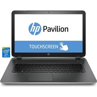 Pavilion TouchSmart 17-f040us 17.3` HD Notebook PC - Intel Core i5-4210U Proc. -