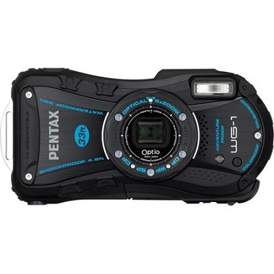 Optio WG-1 Waterproof Digital Camera - Black