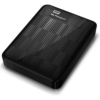 My Passport 2 TB Portable Hard Drive - Black