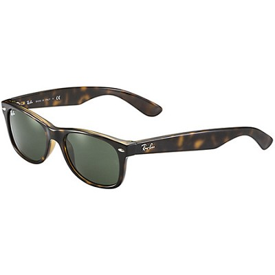 New Wayfarer  Sunglasses - Tortoise Frame-Brown Lens 55mm