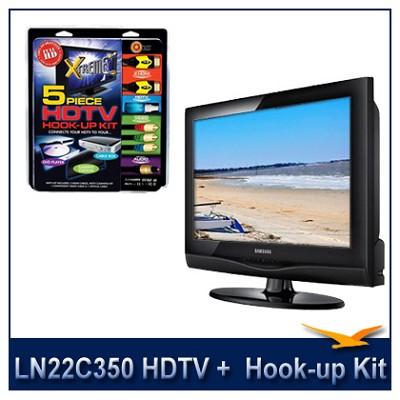LN22C350 HDTV + High-performance HDTV Hook-up & Maintenance Kit