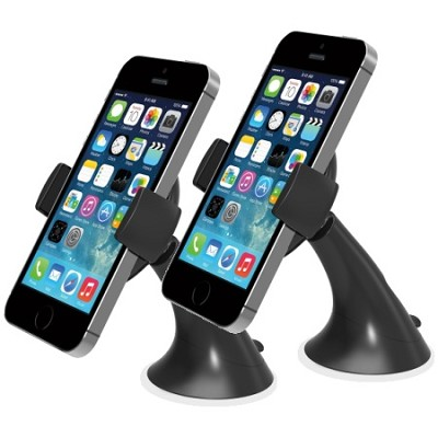 Easy Smart Tap Dash Mount Holder for iPhone 4S/5/5S/5C-2 pack