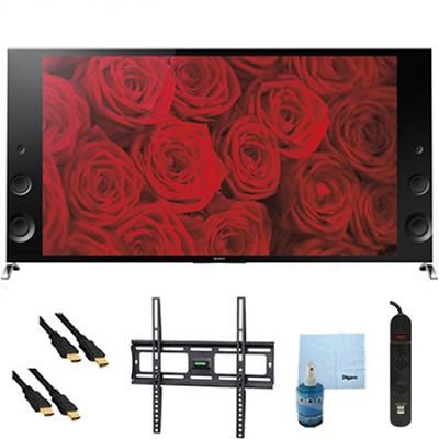 55` 120Hz 3D LED X900B 4K Ultra HD TV Plus Mount & Hook-Up Bundle - XBR55X900B