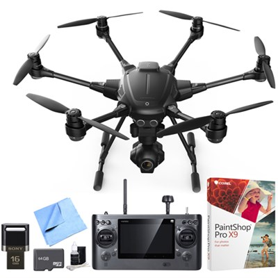 Typhoon H RTF Hexacopter Drone with CGO3+ 4K Camera Pro Video Recorder Bundle