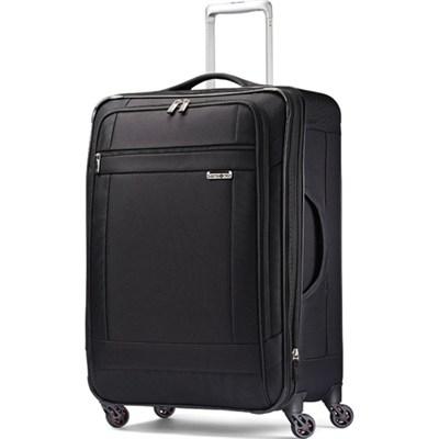 SoLyte 25` Expandable Spinner Upright Suitcase Luggage - Black