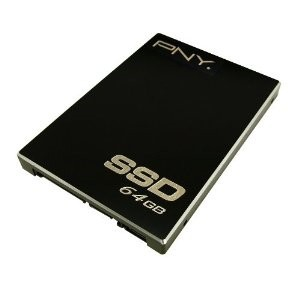 PNY 64 GB Optima SSD SATA II 2.5-Inch Solid State Drive (SSD) P-SSD2S064GM-CT01