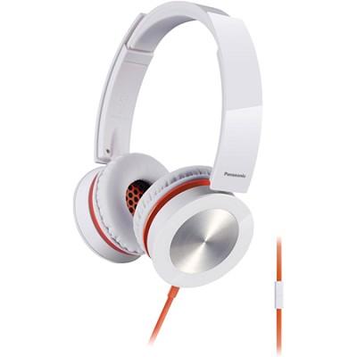 Sound Rush Plus On-Ear Headphones w/ Mobile Controller, White